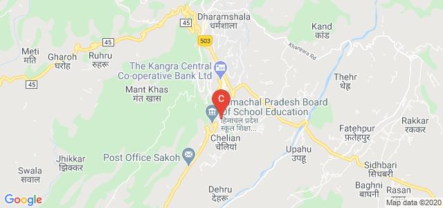 Government College of Teacher Education, ITI-Stadium Road, Jawahar Nagar, Dharamshala, Himachal Pradesh, India