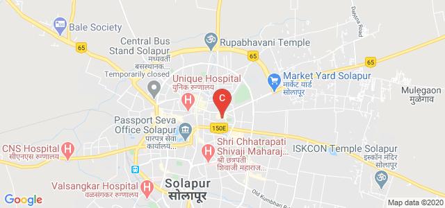 A.R. Burla Mahila Varishtha Mahavidyalaya, Ashikal Maidan, Kanna Chowk, Sakhar Peth, Solapur, Maharashtra, India