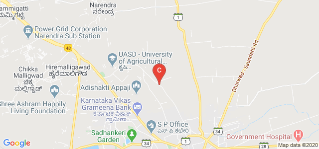 University of Agricultural Sciences, Dharwad, Dharwad-Belgaum Road, Krishi Nagar, Dharwad, Karnataka, India