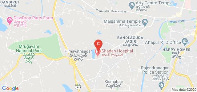 Shadan College Of Pharmacy, Chevella Road, Bandlaguda, Anand Nagar Colony, Rajendranagar mandal, Hyderabad, Telangana, India