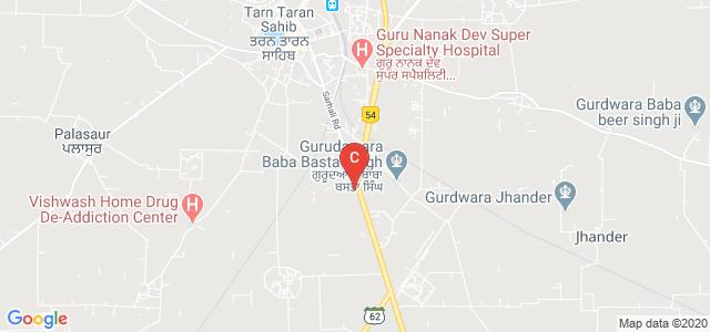Majha College for Women, Tarn Taran, Bachre, Tarn Taran Sahib, Punjab, India