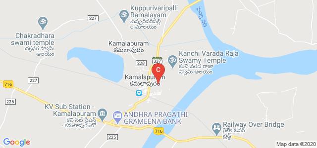 VPR College of Education Kamalapuram, Unnamed Road, Kamalapuram, Andhra Pradesh, India