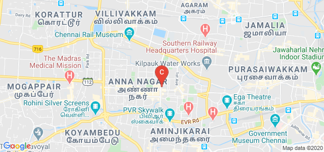 C Kandaswami Naidu College for Men, Block E, Annanagar East, Chennai, Tamil Nadu, India