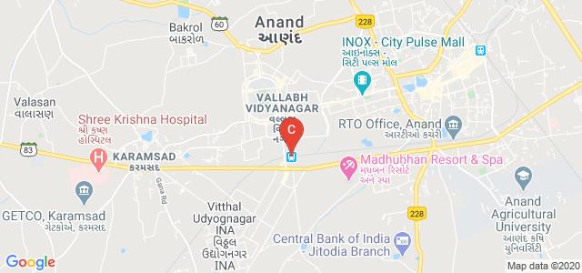 S.S.Patel College of Physical Education, Vithal Udyognagar, Vallabh Vidyanagar, Anand, Gujarat, India