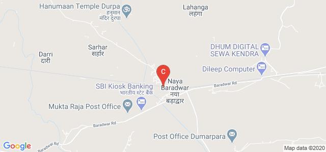 Baradwar, Naya Baradwar, Main Canal, Ward No 9, Baradwar-495667 Distt Janjgir-Champa,Chhattisgarh, India