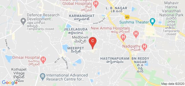 Teegala Krishna Reddy College of Pharmacy, RN Reddy Colony, Hyderabad, Telangana, India