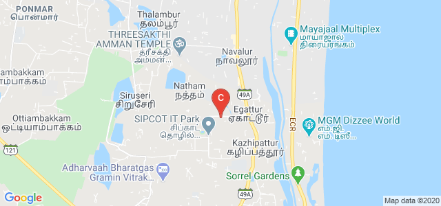 Chennai Mathematical Institute, Siruseri, Tamil Nadu, India