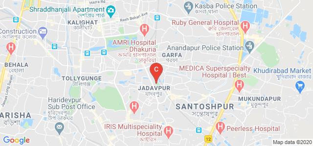 Jadavpur University, Jadavpur, Kolkata, West Bengal, India