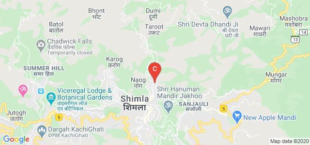 Rajkiya Kanya Mahavidyalaya, Longwood Road, Longwood, Shimla, Himachal Pradesh, India