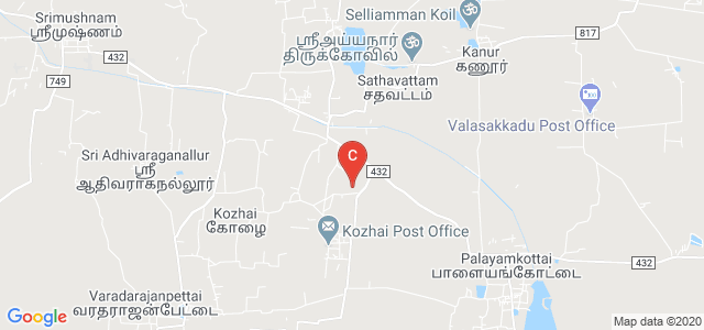 B.Padmanaban Jayanthimala College of Arts & Science, Sannathi St, Srimushnam, Tamil Nadu, India
