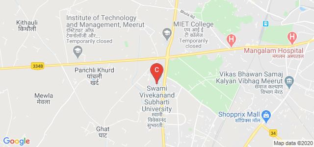 Swami Vivekanand Subharti University, Meerut Bypass Road, Meerut, Uttar Pradesh, India