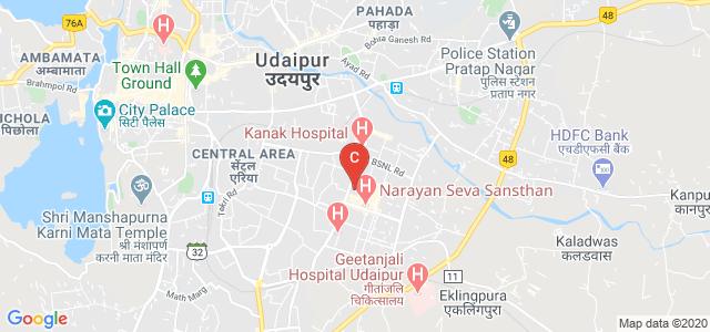 Guru Nanak Girls PG College, udaipur, Hiran Magri Main Road, Sector 4, Pooja Nagar, Hiran Magri, Udaipur, Rajasthan, India