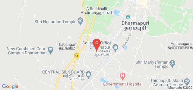 Government Arts College Dharmapuri To Kadathur, Sangampatti, Dharmapuri, Tamil Nadu, India