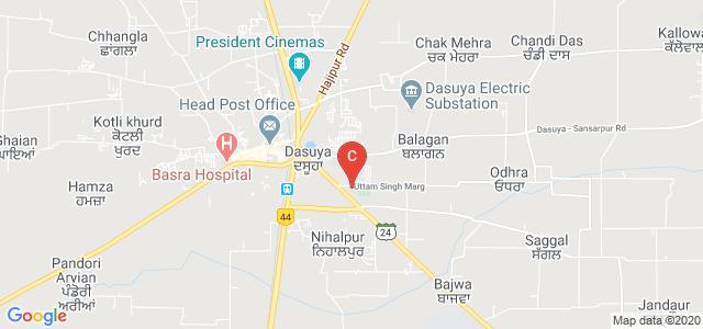 Guru Teg Bahadur Khalsa College of Education, Dasuya, Hoshiarpur - Dasuya Road, Krishna Colony, Keharvali, Dasuya, Punjab, India