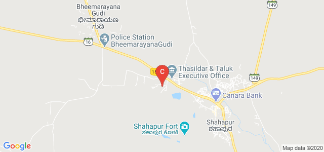 Govt. First Grade Degree College Shahapur, State Highway 16, Karnataka, India