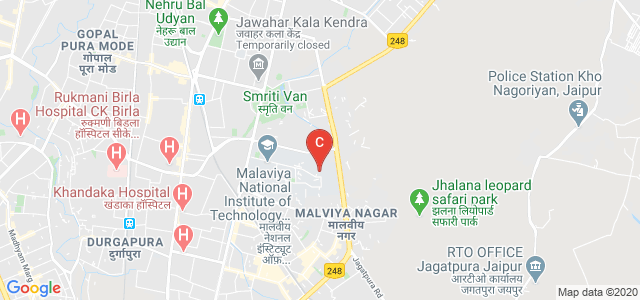 Malaviya National Institute of Technology, Jhalana Gram, Malviya Nagar, Jaipur, Rajasthan, India