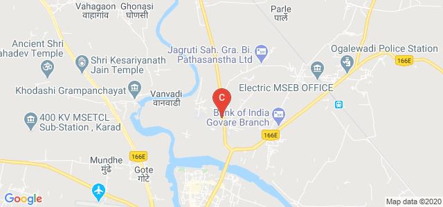 Government College of Pharmacy, Karad, Sadichha Colony, Vidyanagar, Karad, Maharashtra, India