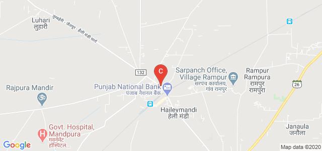 Major District Road 132, Haily Mandi, Haryana 122504, India
