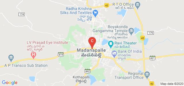 Besant Theosophical College, Kumarapuram, Madanapalle, Andhra Pradesh, India