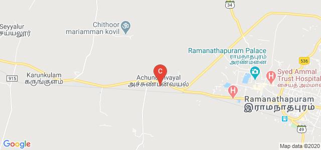 Sethupathy Government Arts College, Achundanvayal, Ramanathapuram, Tamil Nadu, India