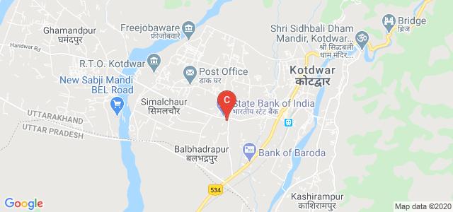 Institute of Hotel Management Studies Kotdwar, Balasaur Road, Ratanpur Sukhro, Balasaur, Uttarakhand, India
