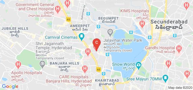 Digiquest Institute of Creative Arts & Design, Raj Bhavan Road, Durga Nagar, Somajiguda, Hyderabad, Telangana, India