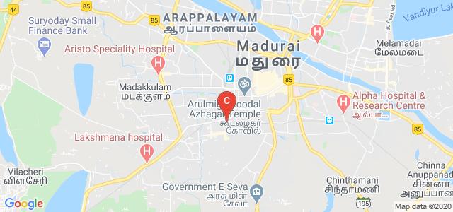 Tamil Nadu Government Polytechnic College, Tirupparankunram Road, Jaihindpuram, Madurai, Tamil Nadu, India