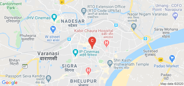 Arya Mahila Post Graduate College, Ramakanth Nagar, Chetganj, Varanasi, Uttar Pradesh, India