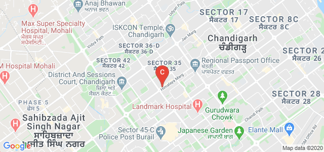 IIFD - Indian Institute of Fashion & Design, Near ICICI Bank, 35C, Sector 35, Chandigarh, India