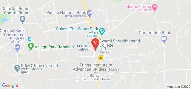 Swami Shraddhanand College, Alipur, New Delhi, Delhi, India