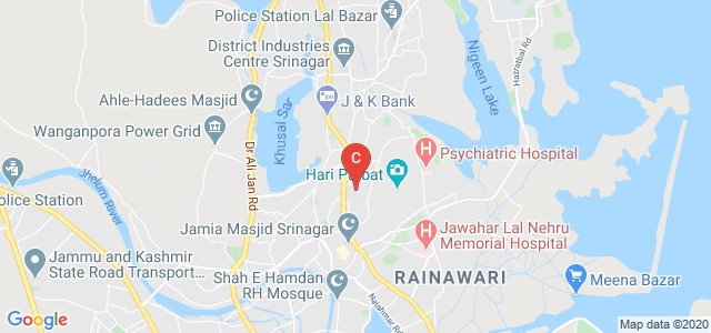 Islamia College of Science and Commerce, Hawal- Alam Gari baaar Link Rd, Hawal, Srinagar