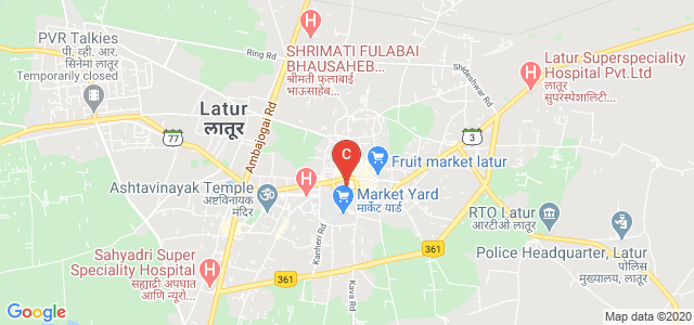 Rajarshi Shahu College Of Arts and Commerce, Chandra Nagar, Sawe Wadi, Latur, Maharashtra, India