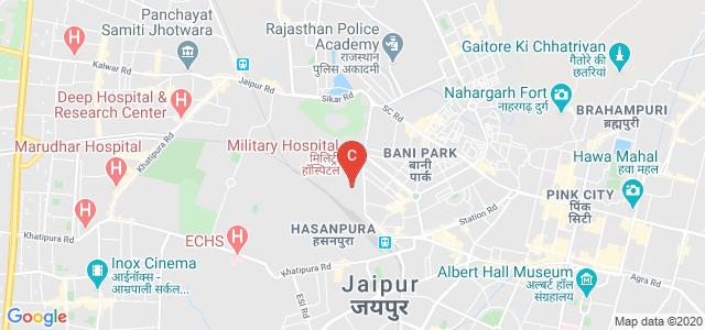 Kamla Poddar Institutes, Military Containment, Jhotwara, Jaipur, Rajasthan, India