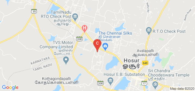 St.Joseph's College Of Arts and Science for Women, Gandhi Nagar Road, Mookondapalli, Krishnagiri, Tamil Nadu, India