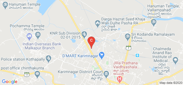 Alphores Women's Degree & PG College, Karimnagar Road, Suryanagar, Karimnagar, Telangana, India
