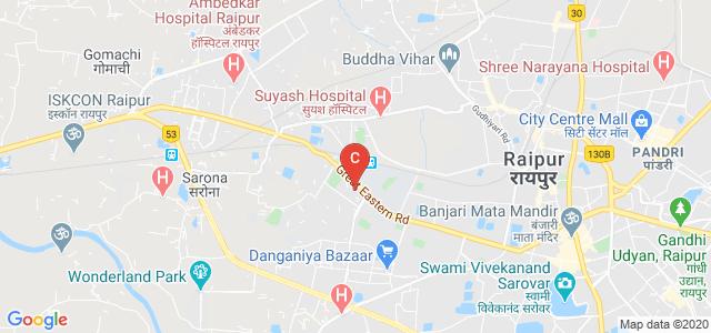 Government Nagarjuna Post Graduate College of Science, Great Eastern Road, Amanaka, Raipur, Chhattisgarh, India