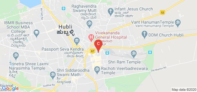 S J M V S Arts And Commerce College For Women, J C Nagar Main Road, J C Nagar, New Hubli, Hubli, Karnataka, India