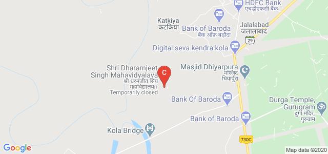 Shri Dharamjeet Singh Mahavidyalaya, Noorpur, Uttar Pradesh, India