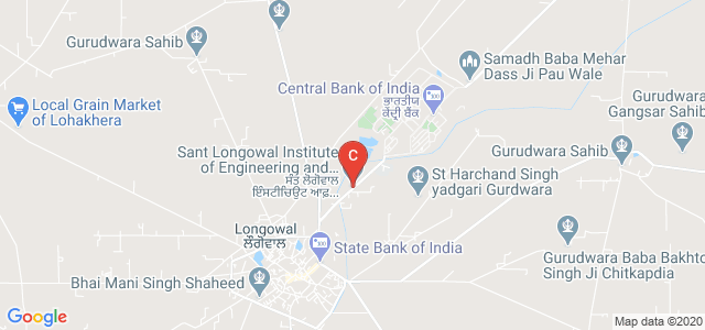 SLIET Rd, Longowal, Punjab 148106, India