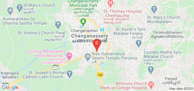 Perunnai, Changanacherry, Kottayam, Kerala 686102, India