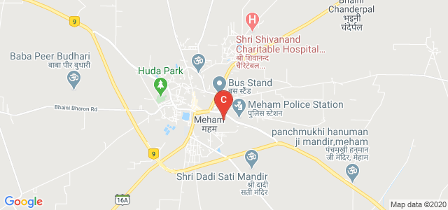 Government College Meham, National Highway 10, Meham, Haryana, India