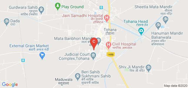 I.G. Government College, Bhuna-Tohna Road, Geeta Colony, Tohana, Haryana, India