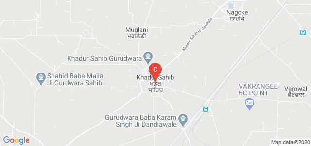 Khadur Sahib, Tarn Taran, Punjab, India