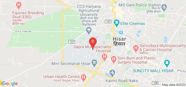 College of Basic Sciences and Humanities [H.A.U.], CCS, Haryana Agricultural University, Hisar, Haryana, India