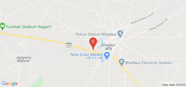 Miri Piri Khalsa College, Bhadaur, Barnala, Punjab, India
