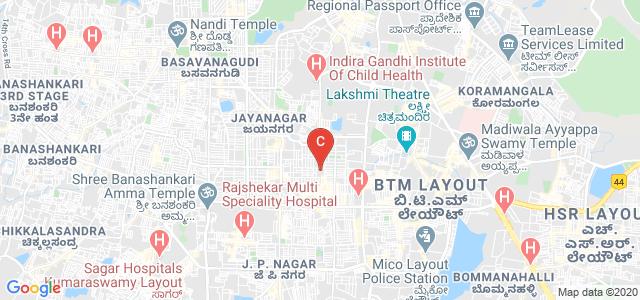 SSMRV College, 36th Cross Road, 4th T Block East, Jayanagara 9th Block, Jayanagar, Bengaluru, Karnataka, India