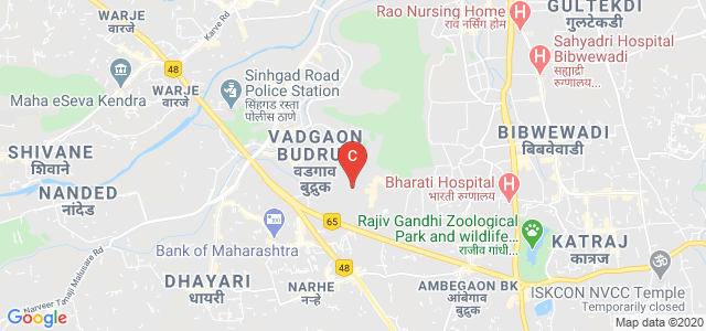Sinhgad College Of Science, Ambegaon BK, Pune, Maharashtra, India
