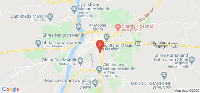 Government Post Graduate College, Rishika Nagar, Khargone, Madhya Pradesh, India