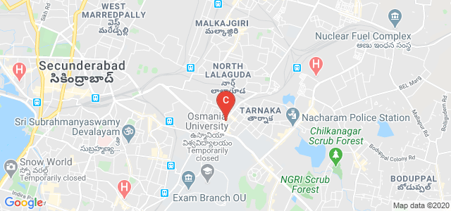 ISO Degree College, adjacent to Spencers, Krishna Giri Enclave, Tarnaka, Secunderabad, Telangana, India