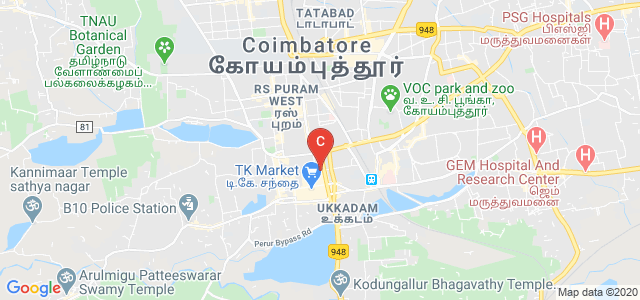 KMCH College of Pharmacy, Kalapatti Main Road, Thirumurugan Nagar, Coimbatore, Tamil Nadu, India